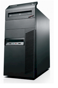 Lenovo ThinkStation E30 782449U Workstation (1 x Intel Core i3 2100 3.1 GHz, RAM 2 GB, HDD 1 x 500 GB, DVD±RW (±R DL) / DVD-RAM, HD Graphics 2000, Windows 7 Pro 64-bit, Không kèm màn hình)