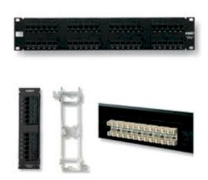 Cable AMP TP >> AMP Category 5E Patch Panel (1479155-2)