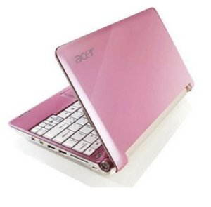 ACER Aspire One A150 Netbook Pink (Intel Atom N270 1.6GHz, 1GB RAM, 160GB HDD, VGA Intel GMA 950, 8.9 inch, Windows XP Home)
