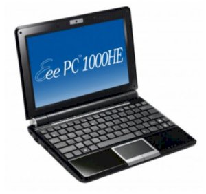 Asus Eee PC 1000HE Netbook Black (Intel Atom N280 1.66GHz, 1GB RAM, 160GB HDD, VGA Intel GMA 950, 10 inch, Windows XP Home)