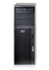 HP Z400 Windows Workstation (VS933AV) W3505 (Intel Xeon W3505 2.53GHz, RAM 2GB, HDD 250GB, VGA NVIDIA Quadro 400 512MB, Windows 7 Professional 64, Không kèm màn hình)