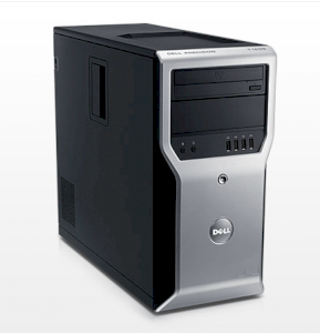 Dell Precision T1600 Tower Workstation i3-2100 (Intel Core i3-2100 3.10Ghz, RAM 2GB, HDD 500GB, VGA NVIDIA Quadro NVS 300, Windows 7 Professional, Không kèm màn hình)