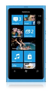 Nokia Lumia 800 (Nokia Sea Ray) Cyan