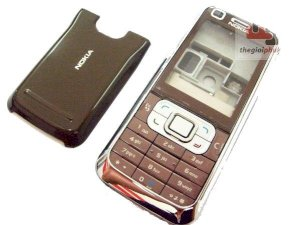 Vỏ Nokia 6120c Brown