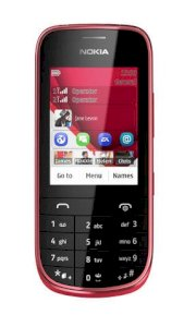 Nokia Asha 202 (N202) Dark Red
