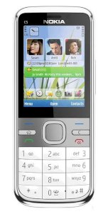Nokia C5 5MP (C5-00 5 MP / C5-002) White