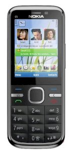 Nokia C5 5MP (C5-00 5 MP / C5-002) All Black
