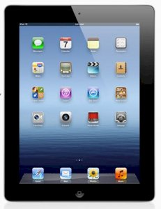 Apple The New iPad 64GB iOS 5 WiFi Model - Black