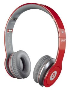 Beats Solo HD RED Special Edition High Definition On-Ear Headphones with ControlTalk