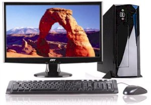 Máy tính Desktop FPT Elead S878i (Intel Core i3-2120 3.3GHz, Ram 2GB, HDD 500GB, VGA Intel HD Graphics, FPT LCD LED 18.5 inch Wide , PC DOS)