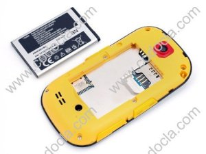 Pin Samsung Corby S3653