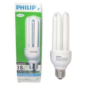 Compact Philips Essential 18W - 3U vàng