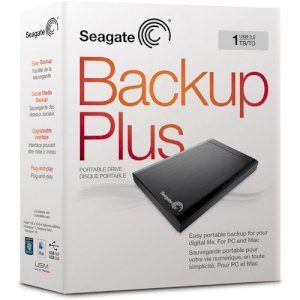 "Seagate Backup Plus 1TB 3.5"" USB 3.0 (STBU1000102)"
