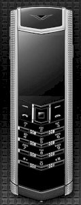 Vertu Signature Clous De Paris Stainless Steel