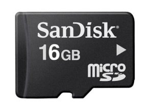 Sandisk MicroSD 16GB