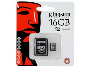 Kingston MicroSDHC 16GB (Class 4)