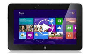 Dell XPS 10 (Qualcomm Snapdragon S4 MSM8960 1.5GHz, 1GB RAM, 32GB Flash Driver, 10.1 inch, Windows 8 RT) WiFi, 4G Model