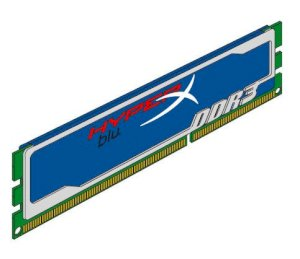 Kingston Hyperx blu 4GB (2x2GB) DDR3 Bus-1333MHz CL9 DIMM (KHX1333C9D3B1K2/4G)