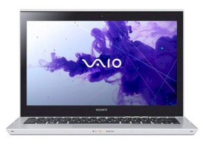 Sony Vaio SVT-1312BPX/S (Intel Core i5-3317U 1.7GHz, 4GB RAM, 532GB (32GB SSD + 500GB HDD), VGA Intel HD Graphics 4000, 13.3 inch Touch Screen, Windows 8 Pro 64 bit) Ultrabook