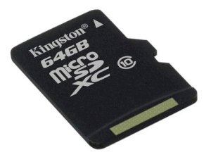 Kingston MicroSDXC 64GB (Class 10)