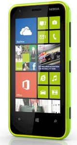 Nokia Lumia 620 Lime green