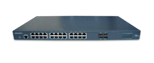 3onedata Switch Ethernet L3 24 Ports GE + 4 Ports Giga SFP (IES3524)