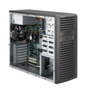 Server Supermicro SuperWorkstation SYS-5037A-T (Black) i3-560 (Intel Core i3-560 3.33GHz, RAM 2GB, Power 500W, Không kèm ổ cứng)