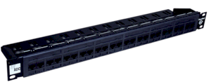 ADC KRONE 6653 1 587-24 Cat 5e Patch Panel 24-port w/ Rear