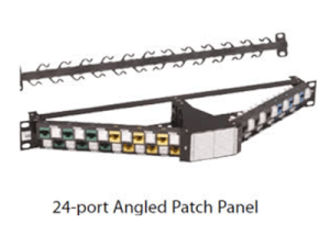 ADC KRONE TPNP-NNC10-NN Patch Panel Cat 6A CopperTen 24-port