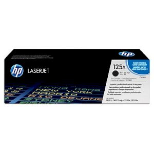 Mực in laser màu HP 125A Black LaserJet Toner Cartridge (CB540A)
