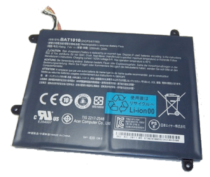 Pin Acer Iconia W500, W500P Tablet (6Cell, 3260mAh) (AP11B7H, BT.00303.024, BT.00307.034) OEM