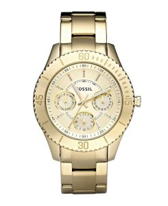Georgia Three Hand Stainless Steel Watch - Gold-Tone ES3293
