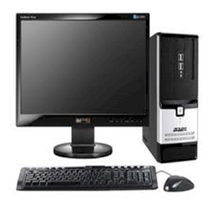 "Máy tính Desktop FPT ELEAD M540 (Intel Pentium Dual Core G2120 3.1Ghz, Ram 2GB, HDD 250GB, VGA Intel HD Graphic, PC DOS, Màn hình FPT LCD LED 18.5"" Wide)"