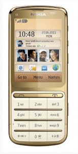 Nokia C3-01.5 Gold Edition