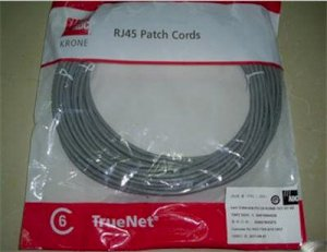 PATCH CORD ADC KRONE 568A CAT5E UTP- 3M
