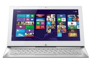 Sony Vaio Duo 13 SVD-13223CX/W (Intel Core i5-4200U 1.6GHz, 4GB RAM, 128GB SSD, VGA Intel HD Graphics 4400, 13.3 inch Touch Screen, Windows 8.1 64 bit) Ultrabook