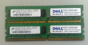 Dell 4GB 2Rx8 RDIMM 1600MHz SV (A6996786)