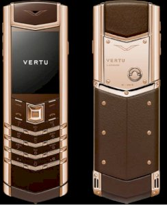 Thay da Vertu Signature S Pure Chocolate