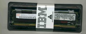 IBM - DDR3 - 32GB - Bus 1333Mhz - PC3 10600 CL9 ECC LP LRDIMM, Part: 90Y3105