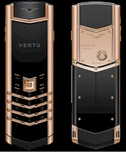 Thay da Vertu Signature S Rose Gold