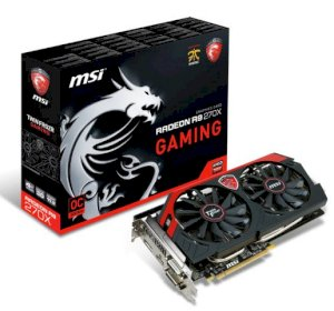 MSI R9 270X Gaming 4G (Interface PCI Express x16 3.0, Memory Type 4096 MB GDDR5, 256 bits)