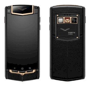 Vertu Ti Titanium Pure Black Leather (Trung Quốc)