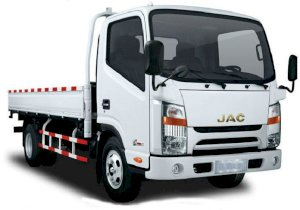 Xe tải JAC HFC1025K-D1790 1.49T Chassis (2013)