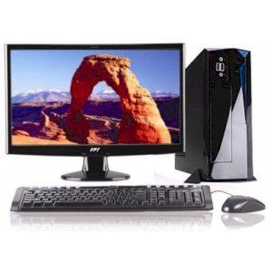 "Máy tính Desktop FPT Elead S896 (Intel Core i5-4460 3.2Ghz, Ram 2GB, HDD 500GB, VGA Intel HD 4600, PC DOS, LCD LED 19.5"" Wide FPT)"