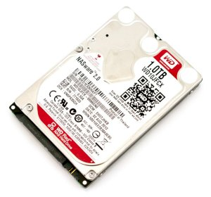Western Digital Red WD10JFCX 1TB - IntelliPower RPM - 16MB Cache - SATA 3 - 2.5""