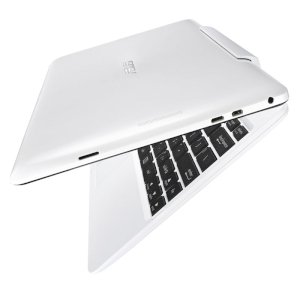 Asus TRANSFORMER BOOK T100TA-DK052H White (Intel Quad Core Z3775 1.46Ghz, 2GB RAM, 64GB SSD, 10.1 inch, Windows 8.1)