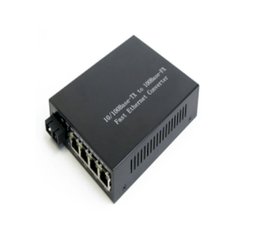 Media Converter 4 cổng Ethernet 10/100M 1310nm MM 2Km (LC YT-8110MA-14-2)
