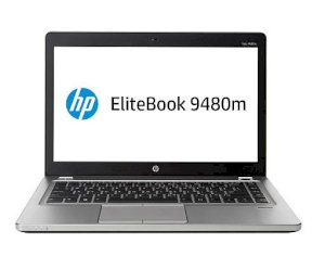 HP EliteBook Folio 9480m (J8V40UA) (Intel Core i5-4310U 2.0GHz, 4GB RAM, 256GB SSD, VGA Intel HD Graphics 4400, 14 inch, Windows 7 Professional 64 bit)