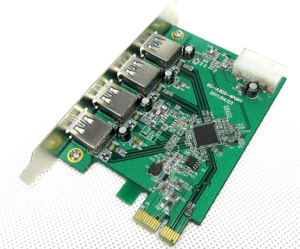 Card PCI Express to USB 3.0 4port