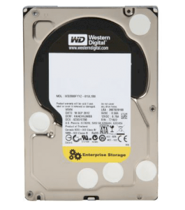 Western Digital RE 4TB - 7200rpm - 64MB cache - Sata 6.0Gb/s (WD4000FYYZ)